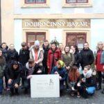 Návštěva dobročinného bazaru našimi žáky